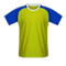 Oxford United jersi bola sepak