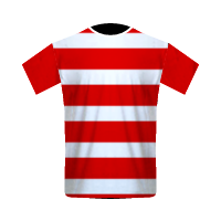 Persepam Madura United home football jersey