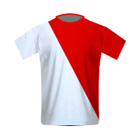 AS Monaco home football jersey
