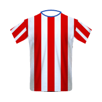 Atlético Madrid home football jersey