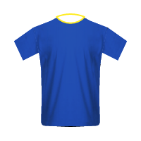Everton home football jersey