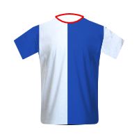 Blackburn Rovers home football jersey