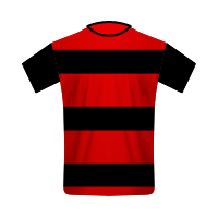 Flamengo away football jersey