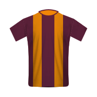 Bradford City home football jersey