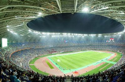 Tianjin Olympic Center Stadium Resmi