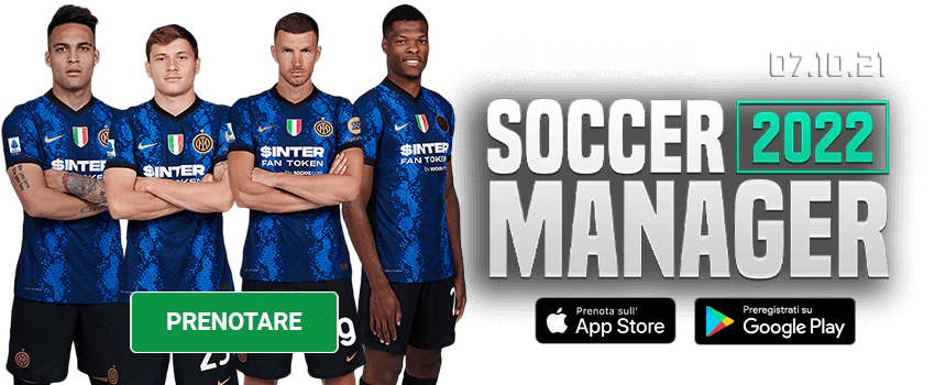Soccer Manager 2022 Prenotare