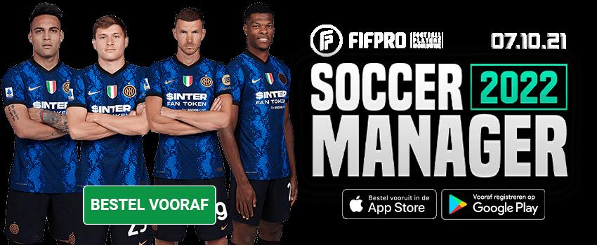 Soccer Manager 2022 Bestel Vooraf