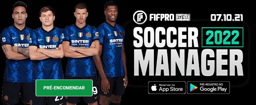 Soccer Manager 2022 Pré Ordem