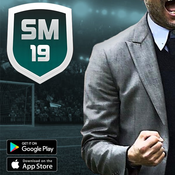 Soccer Manager 2019 Promo image 600 x 600