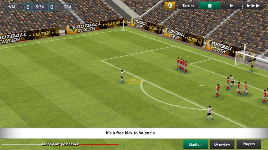 Soccer Manager 2019 Immersive 3D Matchday