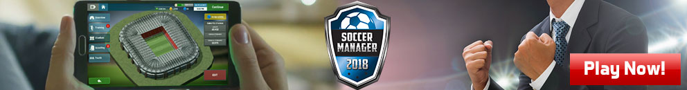 Soccer Manager 2018 Out Now