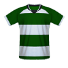Sporting CP home football jersey