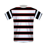 Darlington home football jersey