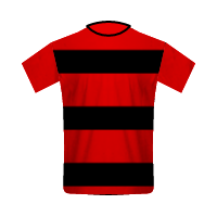 Flamengo home football jersey