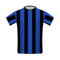 Internazionale home football jersey