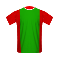 Lokomotiv Moskva home football jersey