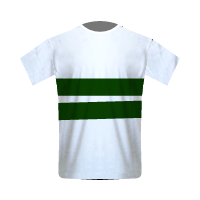 Coritiba home football jersey