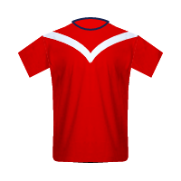 Veracruz home football jersey
