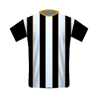 Newcastle United away football jersey
