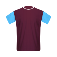 West Ham United segunda equipación
