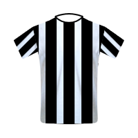 Newcastle United home football jersey