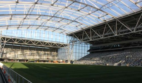 Foto do Forsyth Barr Stadium