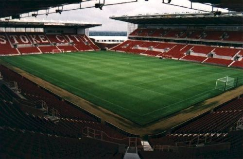 Imagine la Britannia Stadium